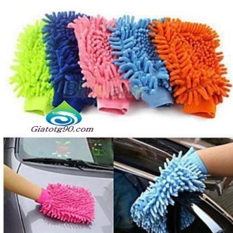 Bộ 5 găng tay chuyên dụng lau rửa xe hơi, ô tô đa năng 206241