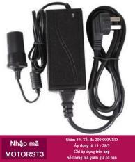 Bộ Chuyển Đổi Nguồn Điện 220v Thành 12v Đầu Cắm Ô tô 60w 5a HQ Store 0TI71-1