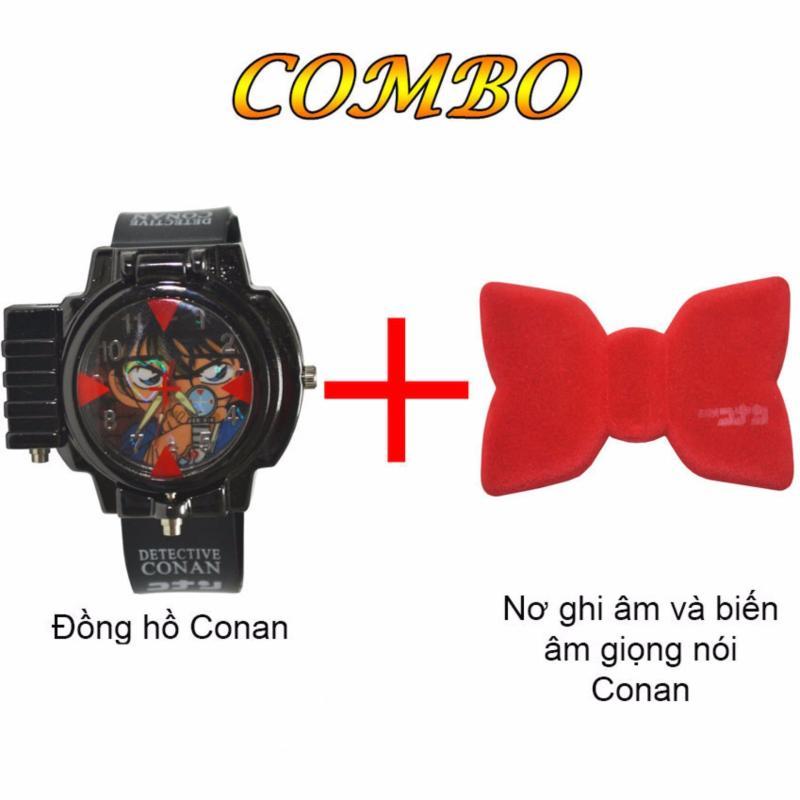 Bộ Đồng hồ đeo tay Thám tử lừng danh Conan + Nơ ghi âm và biến âm giọng nói Thám tử lừng danh Conan bán chạy