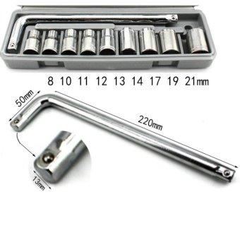 Bộ dụng cụ sửa chữa ô tô và xe máy HQ206080 (ghi)