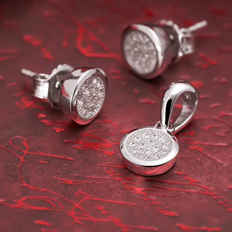 Bộ trang sức bạc Annie Love  | Eropi