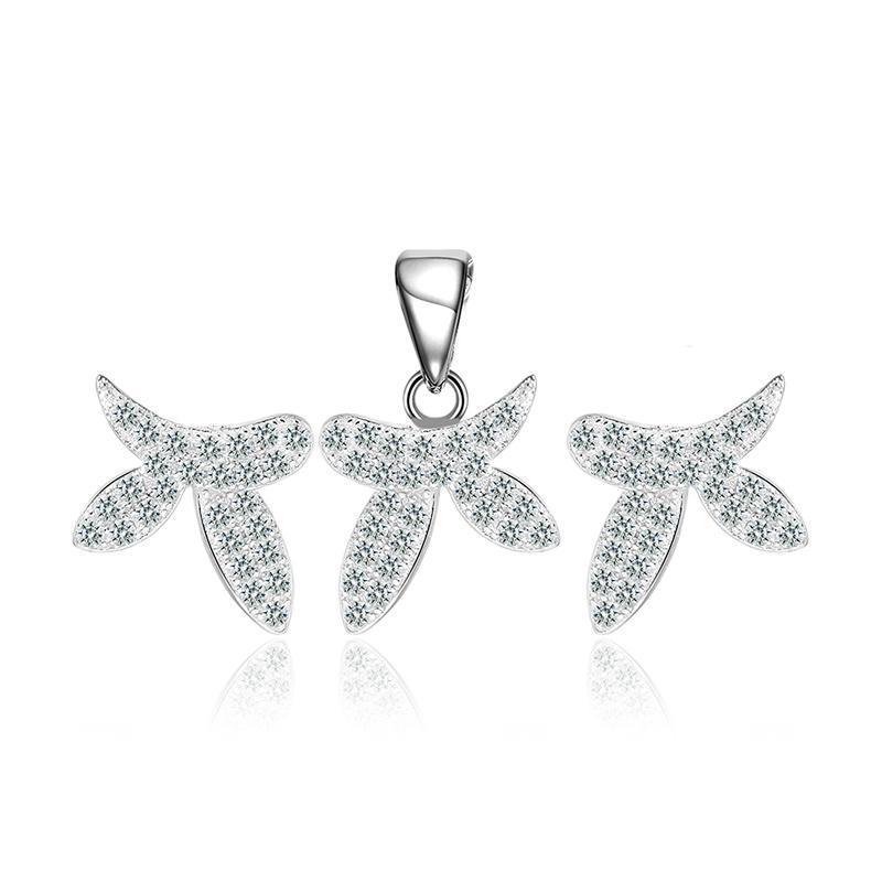 Bộ trang sức bạc Nami Love  | Eropi