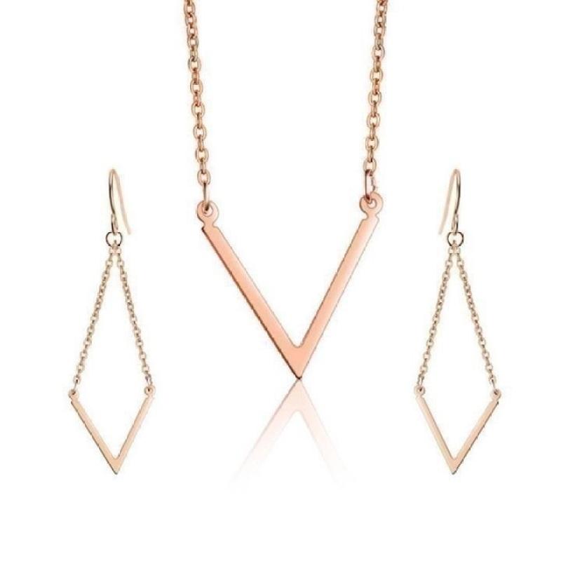 Bộ trang sức Bily Shop TITAN539 (Vàng)