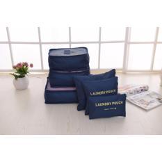 Bộ túi đa năng giúp chia hành lý du lịch - Chodeal24h.vn (Xanh đậm)
