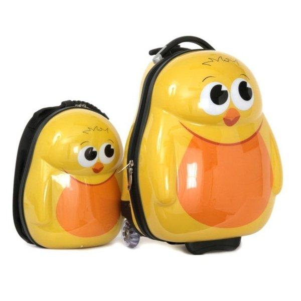 Giá bán Bộ vali kéo hình gà con Cuties 2015 (Vàng)