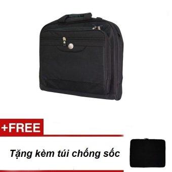 Cặp dùng cho Laptop + Tặng túi chống sốc