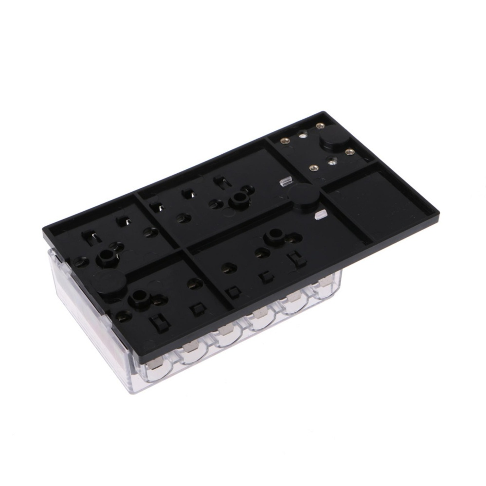 Lm Sao Mua Car 12 Way Block Holder Circuit Blade Fuse Box With Cover 32v Dc Atc Ato