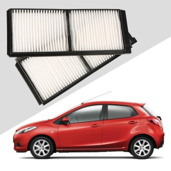 Car Cabin Air Filter For Mazda 2 2007 (D651-61-J6X) (White) - intl