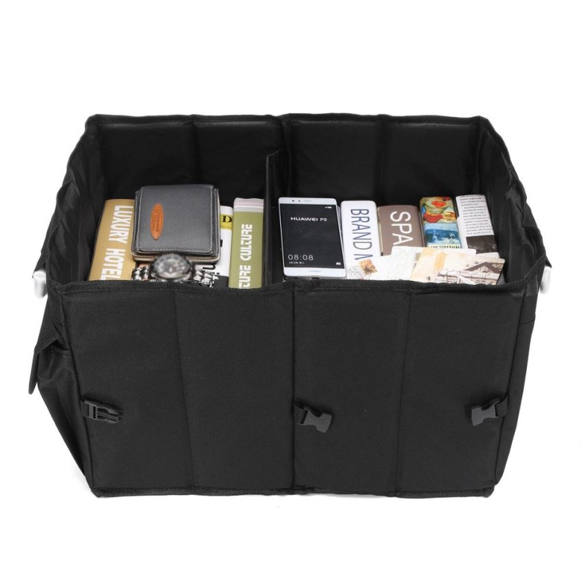 car interior large foldable tidy organiser shop travel storage boot gi 194 000. Black Bedroom Furniture Sets. Home Design Ideas