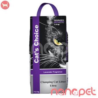 Cát Vệ Sinh Natural Mùi Lavender Cho Mèo Túi 7.5Kg