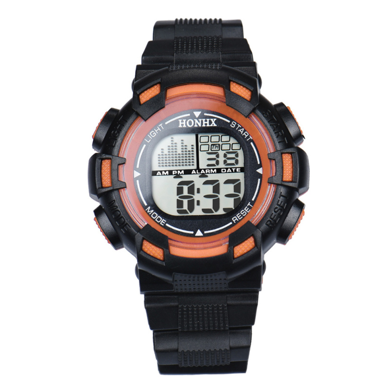 Nơi bán Child Multifunction Sports Waterproof Electronic Wristwatch (Orange) - intl