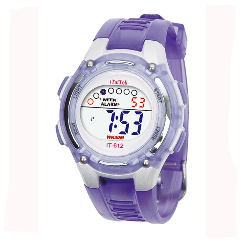 Nơi bán Children Boys Girls Swimming Sports Digital Waterproof Wrist Watch PP - intl