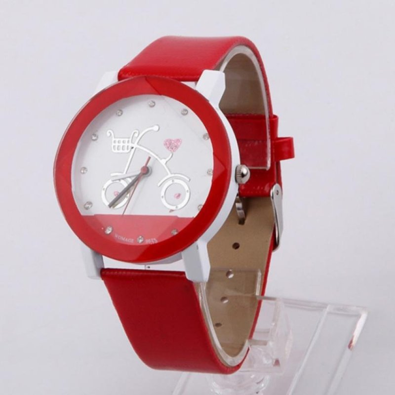 Children Leisure watches Cartoon watches (Rose Red) - intl bán chạy