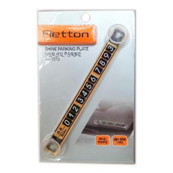 Combo 2 Bảng số điện thoại gắn kính trước ô tô Retton