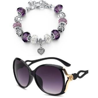 Đặt hàng Combo kính mát thời trang + Vòng tay + Tặng bao da K13+31  198.550 đ