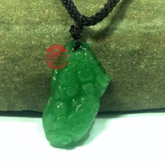 Dây chuyền nam mặt tỳ hưu đá PT988 (xanh)