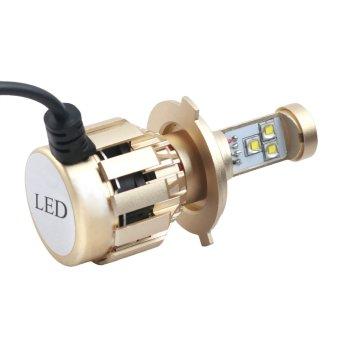 Đèn Led Fa-cos H4 (sơn vàng - 6000k)