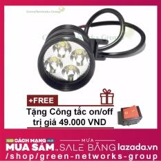 Đèn Led trợ sáng xe máy L4 - CYT GreenNetworks + Tặng công tắc