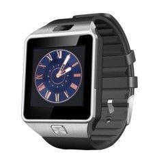 Bảng Giá đẹp Eshop Đồng hồ thông minh Bluetooth thông minh Thẻ SIM GSM dành cho Android Điện thoại (Đen)  niceE shop