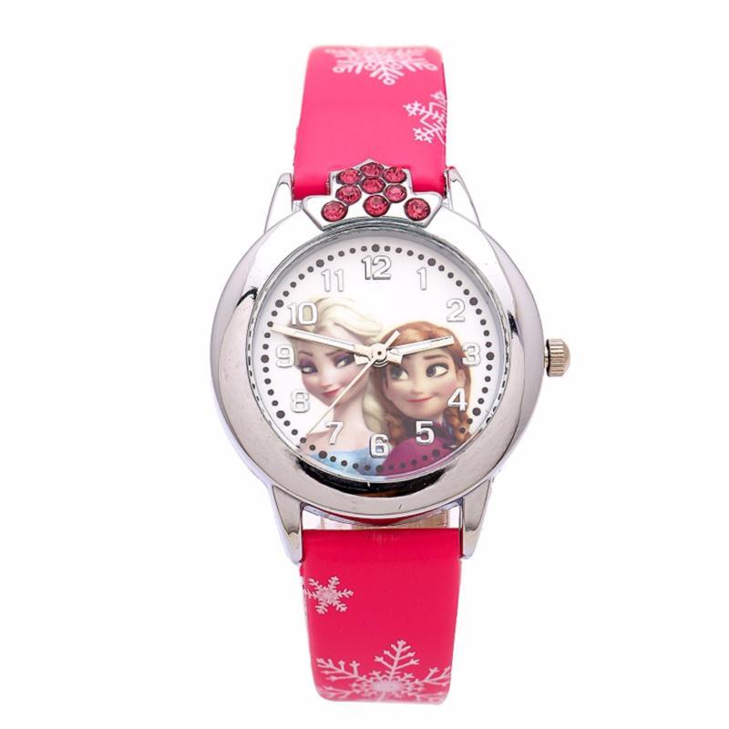 Đồng hồ bé gái  dây da GE103 (Hồng) bán chạy