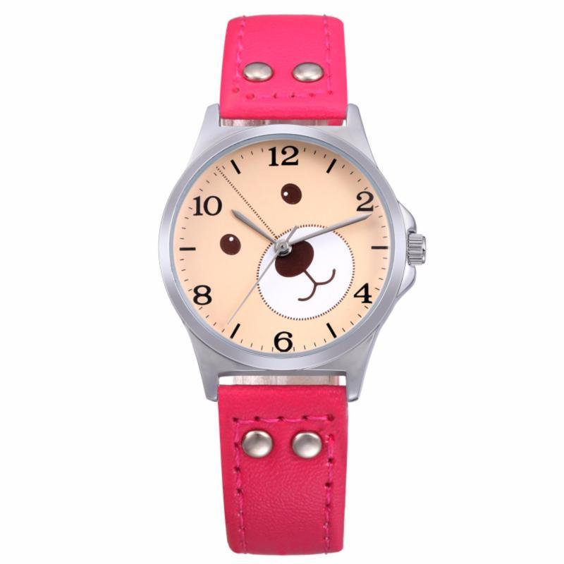Đồng hồ bé gái hãng SKONE, máy Quartz Nhật, dây da 3170 bán chạy