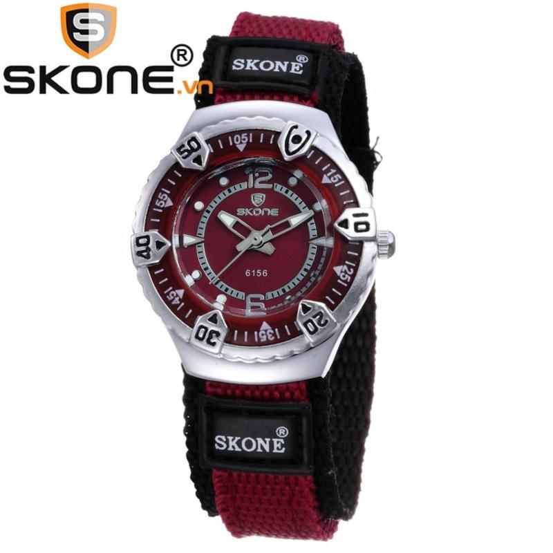 Đồng hồ bé gái hãng SKONE, máy Quartz Nhật, dây dù 6156 lady bán chạy