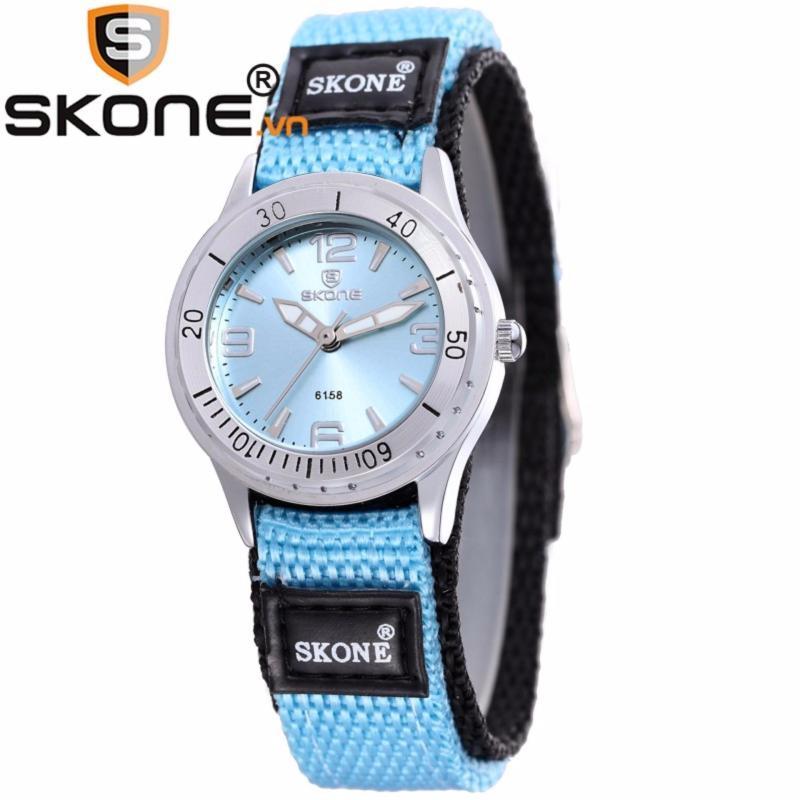 Đồng hồ bé gái hãng SKONE, máy Quartz Nhật, dây dù 6158-girl-4 bán chạy