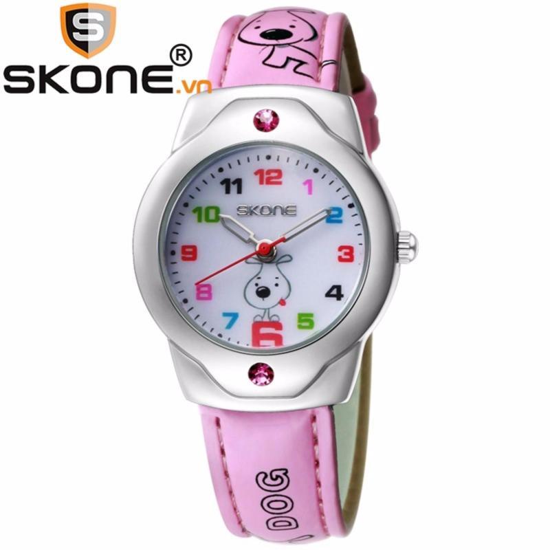 Đồng hồ bé gái SKONE - dây da 3149-3 bán chạy
