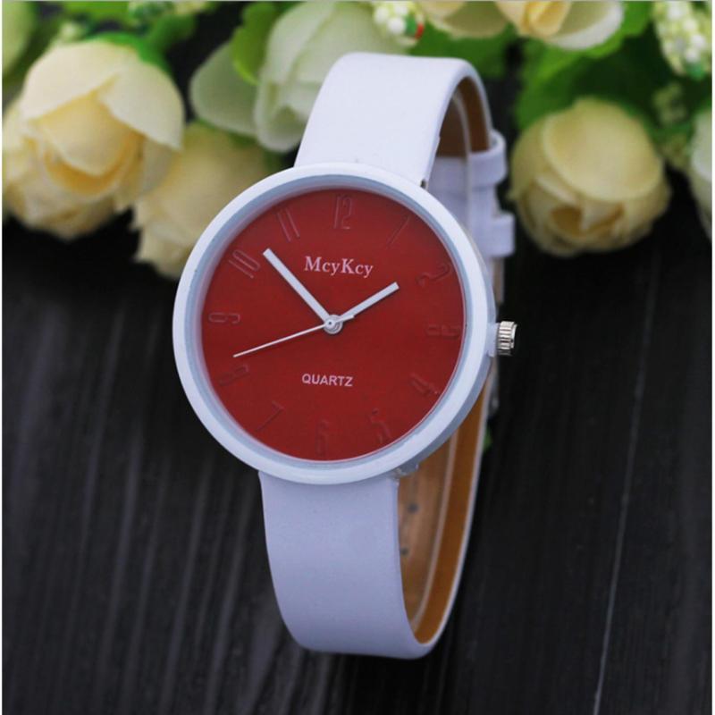 Đồng hồ bé McyKcy thời trang MC001(đỏ) bán chạy