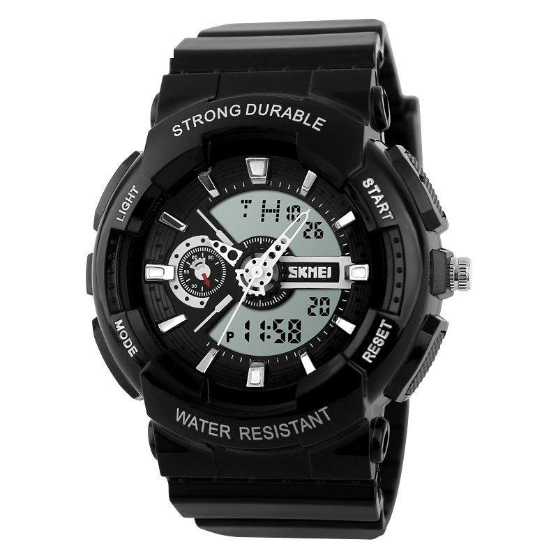 Đồng hồ bé trai dây cao su Skmei 1052 (đen ) bán chạy