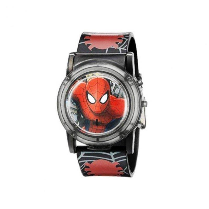 Đồng hồ bé trai dây nhựa Flashing Musical Watch Marvel Spider man bán chạy