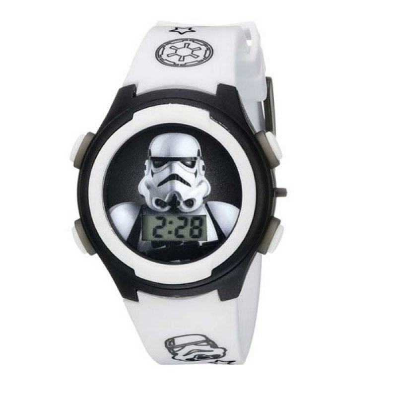 Đồng hồ bé trai dây nhựa LCD Flashing Lights Disney Star Wars Stormtrooper bán chạy