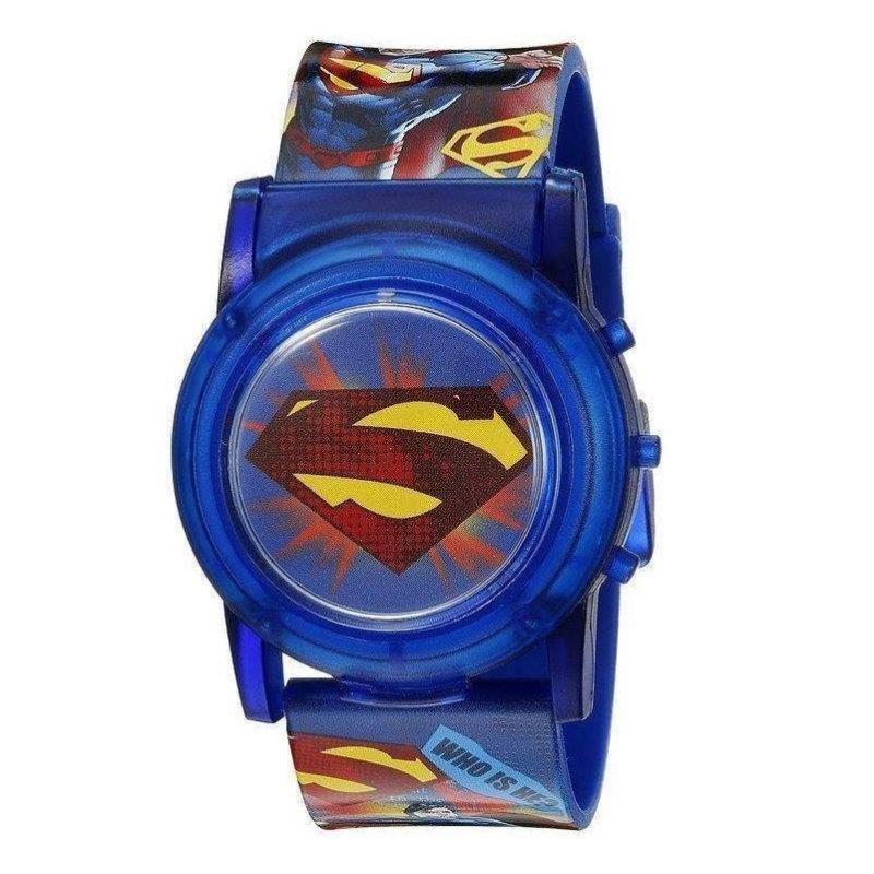 Đồng hồ bé trai Flashing Musical Watch DC Comics Superman (Xanh) bán chạy