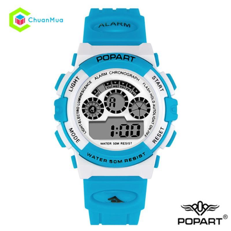 Đồng hồ Bé Trai Popart 310 Điện Tử Chống Nước DHA500 - Xanh Dương bán chạy