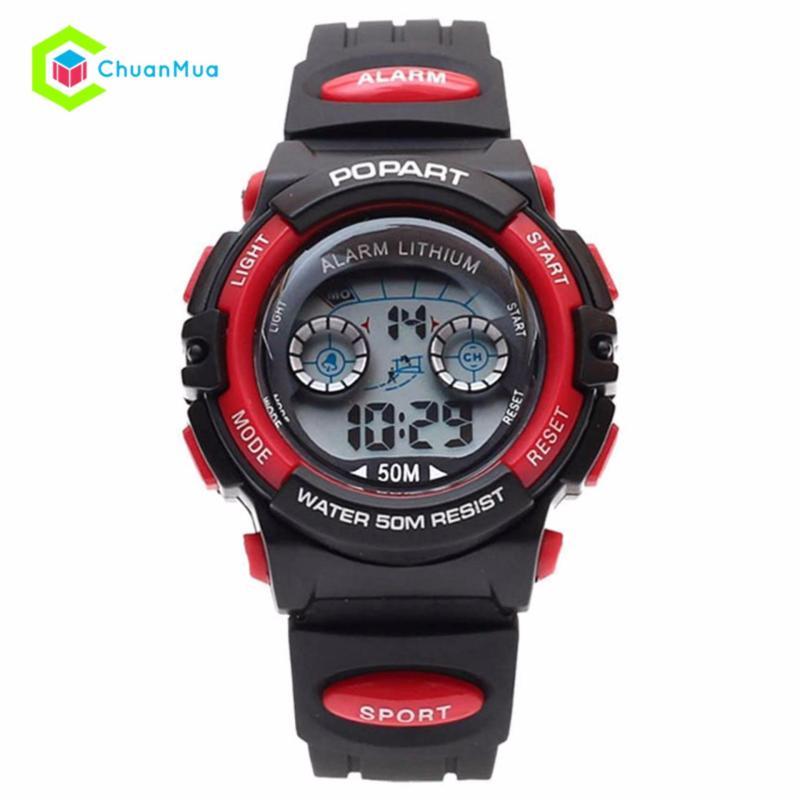 Đồng hồ Bé trai Popart POP-944 Chống Nước DHA398-D1577 - Đỏ bán chạy