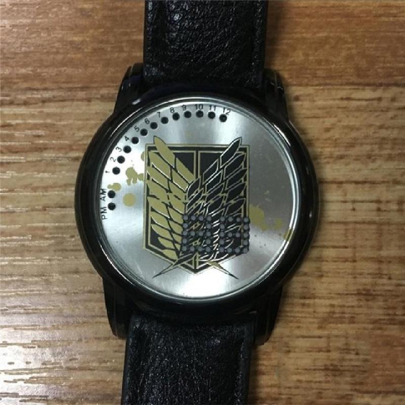 Đồng hồ cảm ứng Attack On Titan - 004 Mặc định bán chạy