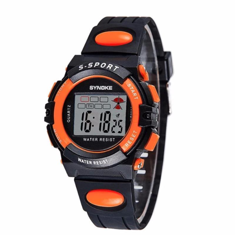Đồng hồ cho bé synoke 99268 (Cam) bán chạy