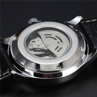 Đồng hồ cơ nam dây da SEWOR TPW447 (Đen)