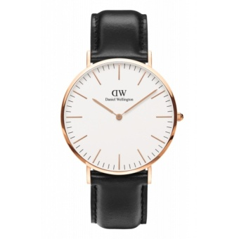ng h Daniel Wellington Classic Sheffield - Mt 40mm - Dy Da - Hng Nhp Khu