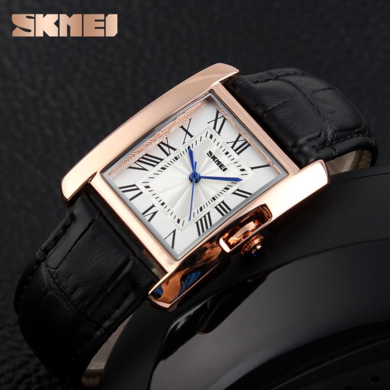 Nơi bán Đồng hồ dây da cao cấp Skmei 1085 (3 màu)