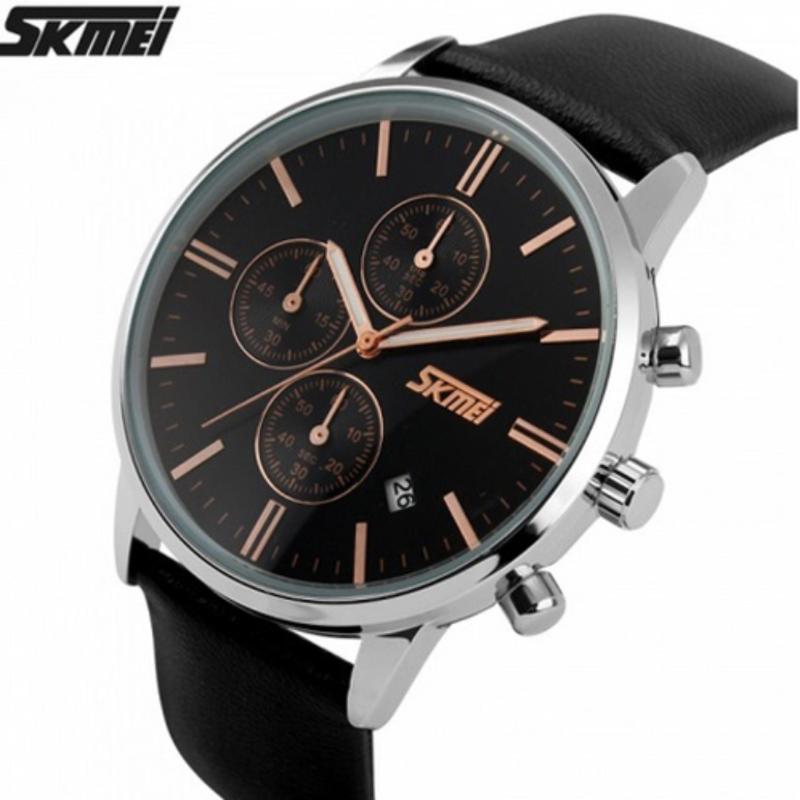 Nơi bán Đồng hồ dây da cao cấp Skmei 9103