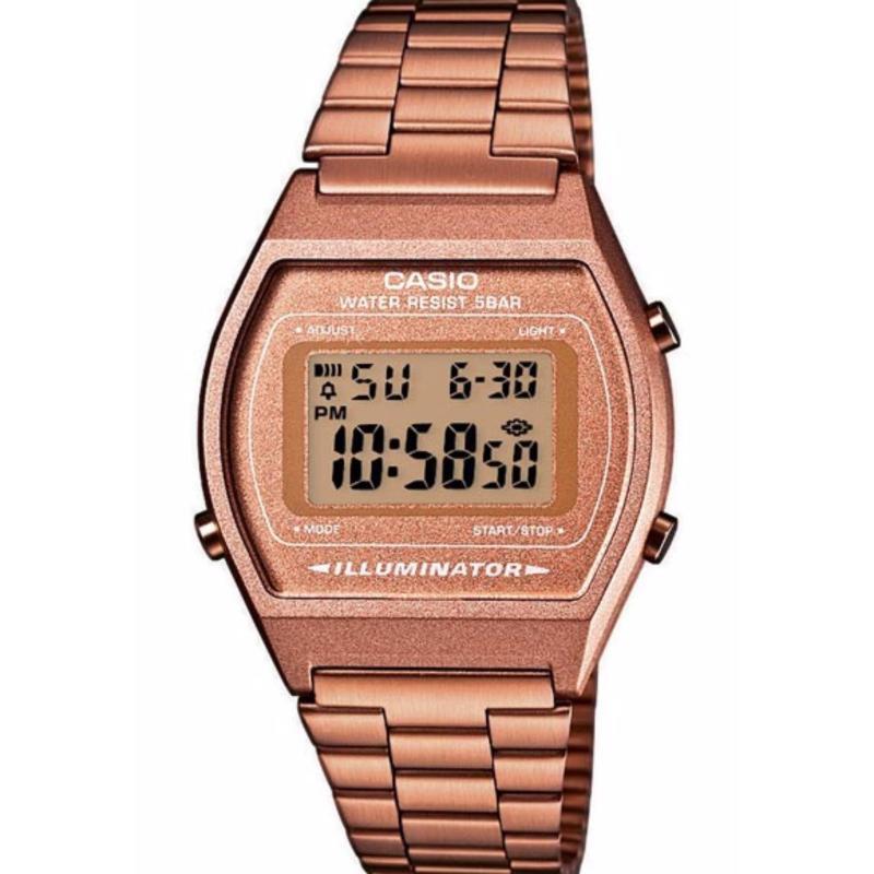 Nơi bán Đồng hồ dây kim loại Casio B640WC-5ADF (Vàng hồng)