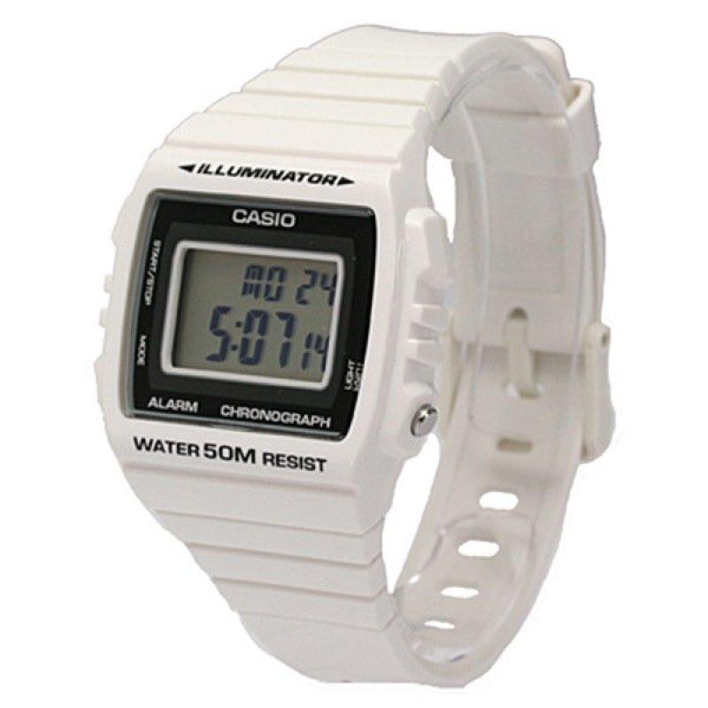 Nơi bán Đồng hồ dây nhựa Casio W-215H-7Avdf (Trắng)