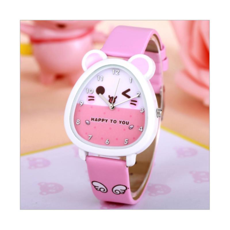 Đồng hồ đeo tay cho bé gái GE612( hồng ) bán chạy