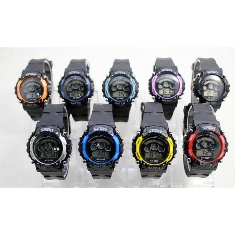 Đồng hồ điện tử 588F  (Màu ngẫu nhiên) bán chạy