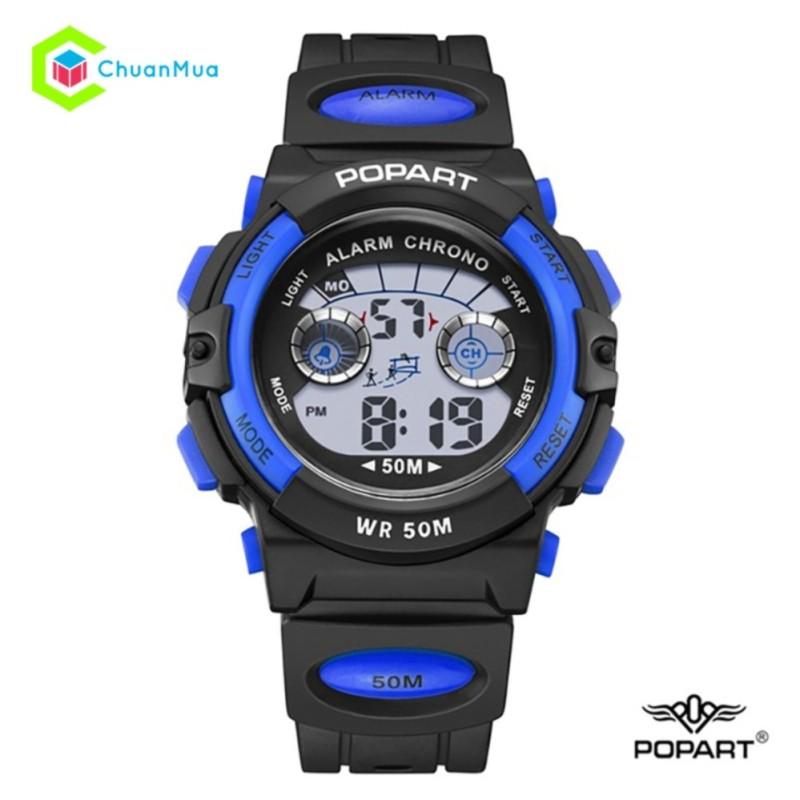Đồng hồ Điện Tử Bé trai Popart DHA398 Chống Nước - Xanh Dương bán chạy