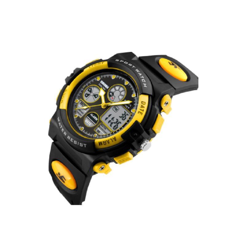 Đồng hồ điện tử bé trai SKMEI SK094 - Vàng bán chạy