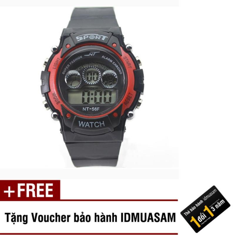 Nơi bán Đồng hồ điện tử trẻ em IDMUASAM 7462 (Đỏ) + Tặng kèm voucher bảo hành IDMUASAM