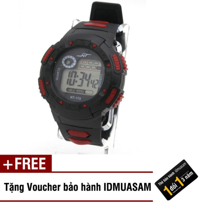 Nơi bán Đồng hồ điện tử trẻ em IDMUASAM 7904 (Đỏ) + Tặng kèm voucher bảo hành IDMUASAM