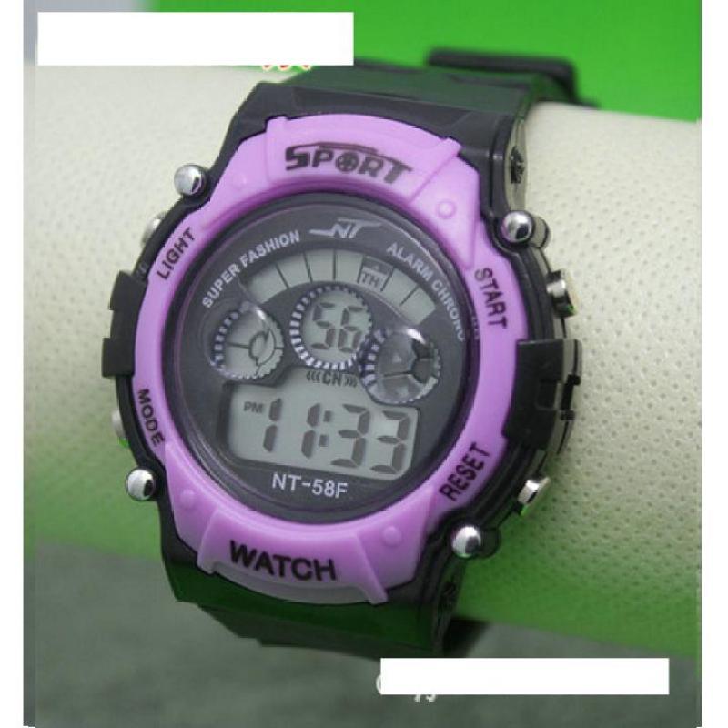 Nơi bán Đồng hồ điện tử trẻ em IDMUASAM 7971 (Tím)